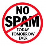 Strict No Spam Policy image